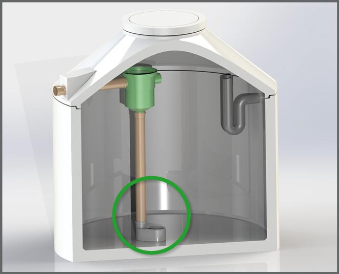 2. Reinigungsstep von Regenwasser - Regenwasser nutzen