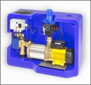 Systemsteuerung Evo Box 15 - Regenwasser nutzen