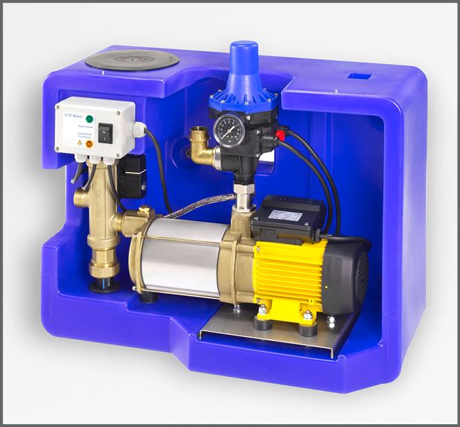 Systemsteuerung Evo Box V35 - Regenwasser nutzen