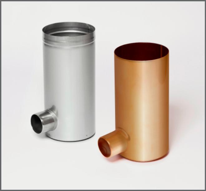 Regenwasserfilter Evo Downpipe Metal - regenwasser nutzen