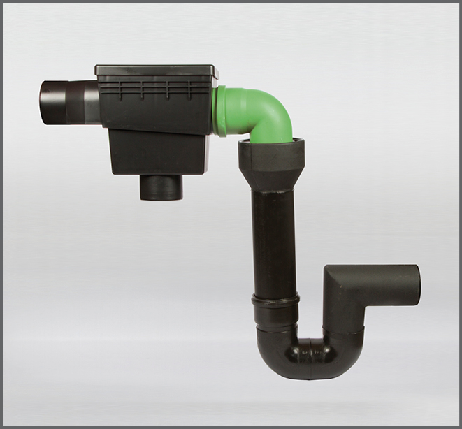 Regenwasserfilter Evo Integral Combi K - Regenwasser nutzen