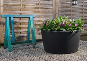 Pflanzentrog Evo Basso - Regenwassre nutzen